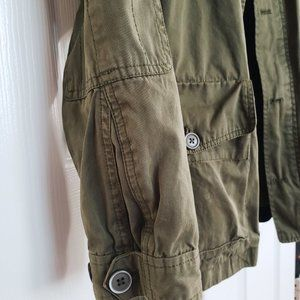 Zara Jackets & Coats - zara: military green jacket